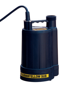 Multiquip Yellow Submarine Sump Pump .25hp 1-1/4