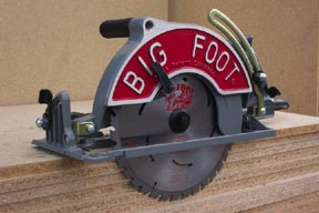 Big Foot Saw Adaptor Convert Worm Drive To 10-1/4