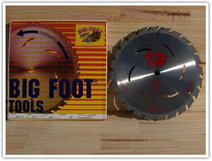 Big Foot 10-25-36 Tooth Blade 10-1/4