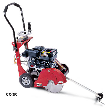 MK Diamond CX3-R Concrete Saw 6.5HP Robin Cyclonic