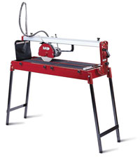 MK Diamond 112 Wet Cutting Tile Saw w/folding stand