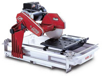 MK Diamond MK-100 tile saw with stand