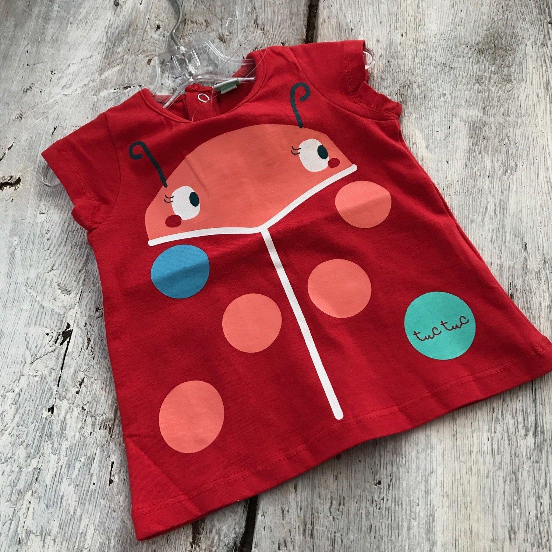 T-shirt Rouge Coccinelle