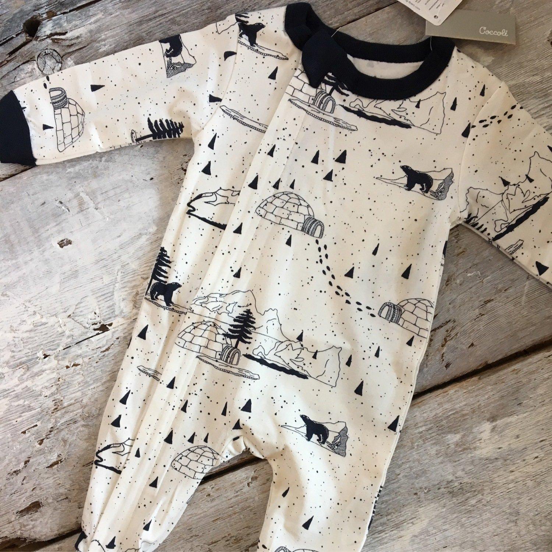 Pyjama Igloo Sur Fond Blanc PZM4522