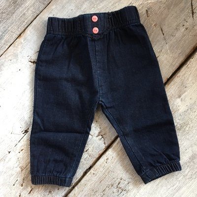 Pantalon Coton Effet Jean