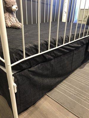 Jupe de lit, voir options (photos)