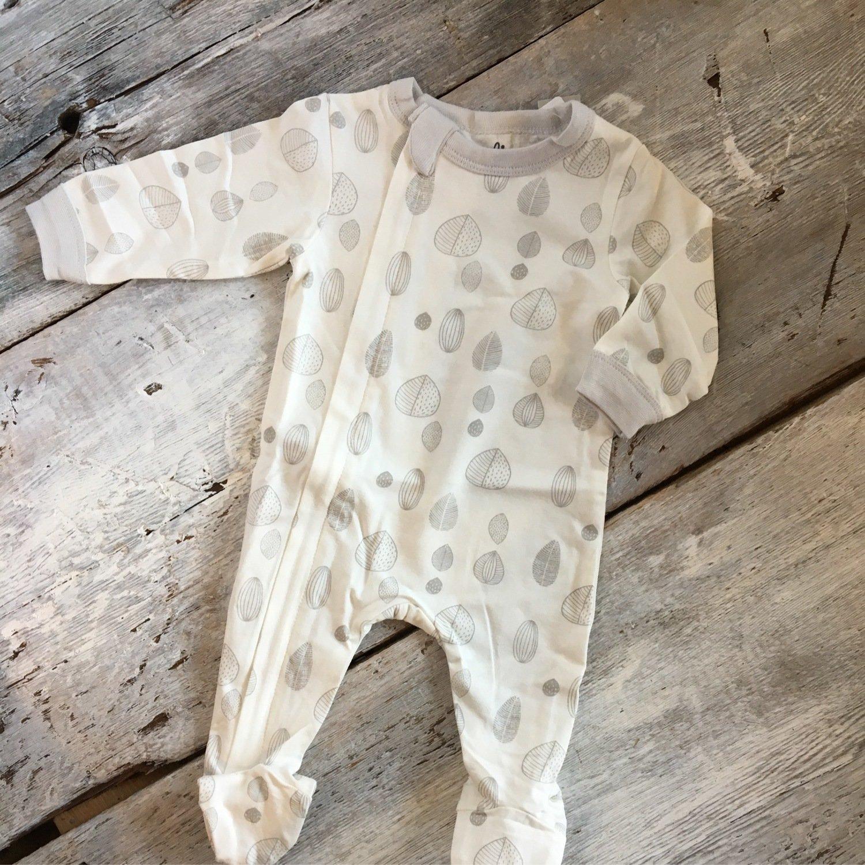 Pyjama Feuille Grise PZM4561