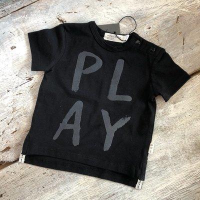 T-shirt Noir Play Loud