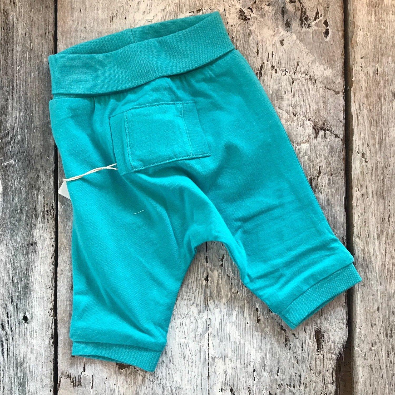 Pantalon Turquoise Réversible
