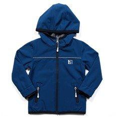 Manteau mi-saison, Coquille Bleue unie