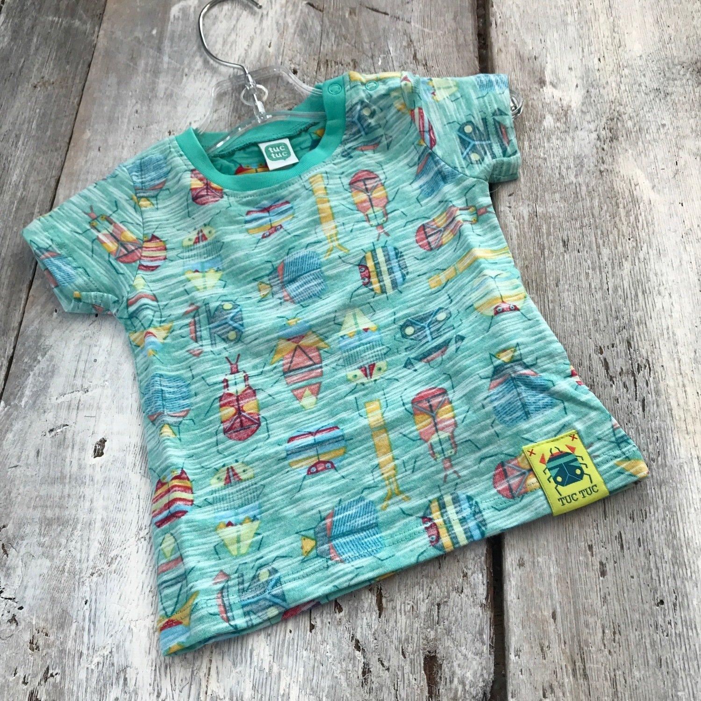 Tee-shirt Insecte tissus style à l'envers