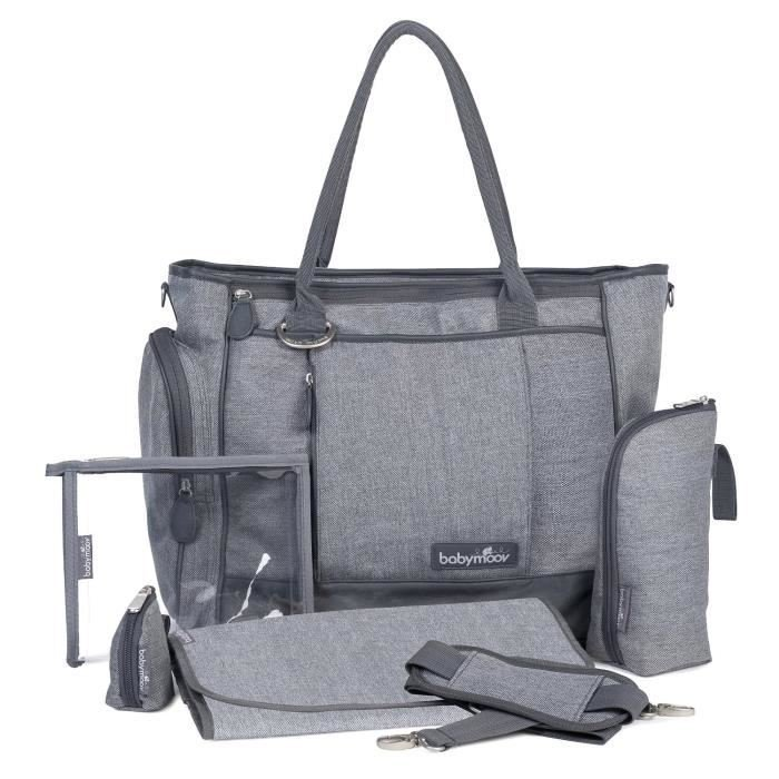 Sac a couches Gris taille moyenne
