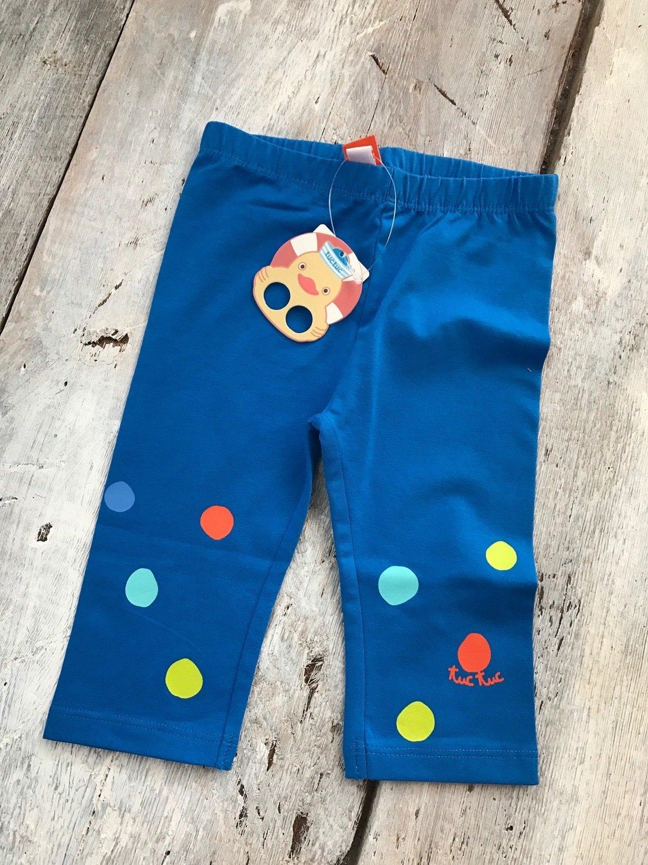 Leggings Bleu Pois Multi