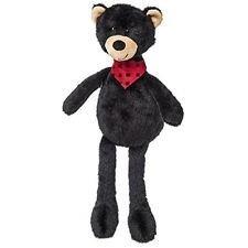 Ours Noir foulard rouge/noir