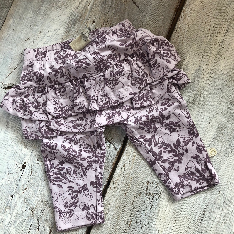 Pantalon Motifs Mauve 110897