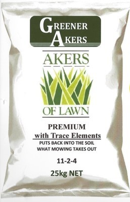 Akers of Lawn Premium Fertiliser 25kg
