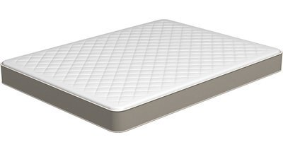 rv mattress short queen inner spring plush tight top 60 x 74 - Short Queen Mattress