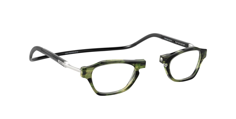 shop acquista per il meglio prezzo limitato CliC Flex Acetate Milano Green - Gli originali occhiali con calamita -  Montatura da vista