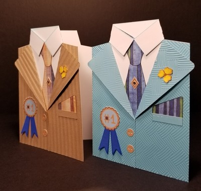 Men's Jacket 5x7 Card