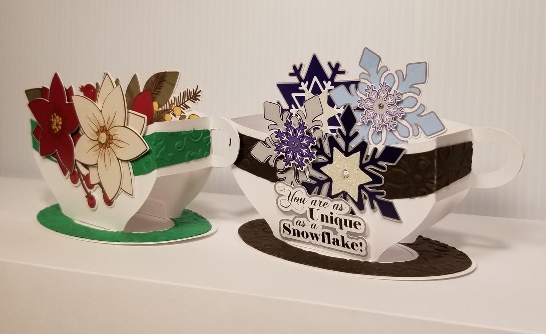 3D Teacups