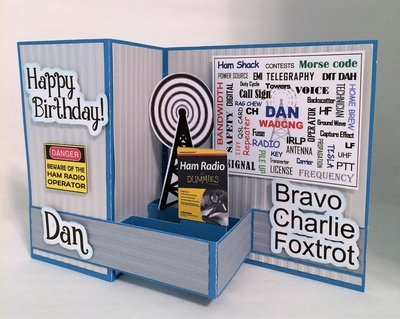 CUSTOM for HAM RADIO OPERATOR BIRTHDAY