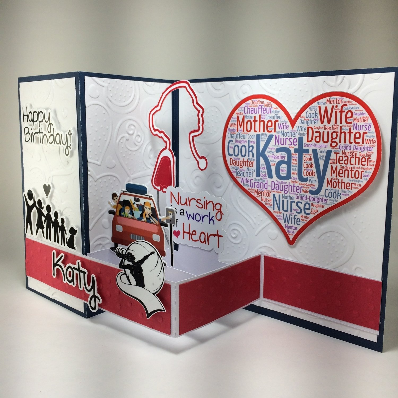 Katy's Birthday card
