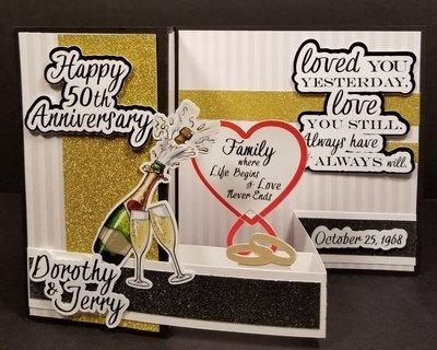 Custom 50th Wedding Anniversary