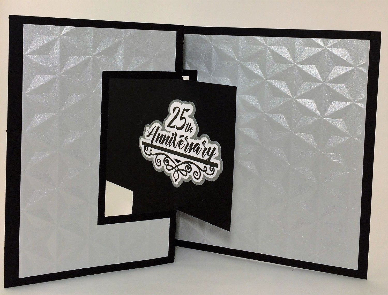 25th Anniversary with Gift Card enclosure