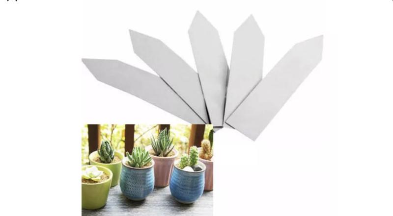 """4"""" Plant tags x 10"""