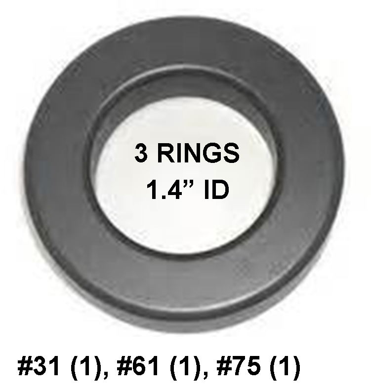 Ferrite Ring Mini Combo Pack, FT240 - 1.4