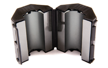 Ferrite Mini Snap On Combo Pack, Mix 61, RFI Range 200-2000 MHz - 6 filters FMSCP-61-6