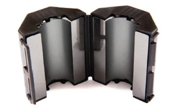 Ferrite Mini Snap On Combo Pack, Mix 61, RFI Range 200-2000 MHz - 6 filters