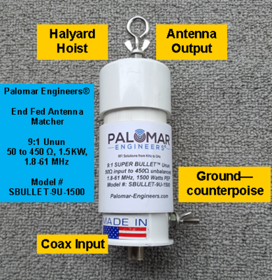 End Fed Antennas - Palomar Engineers®