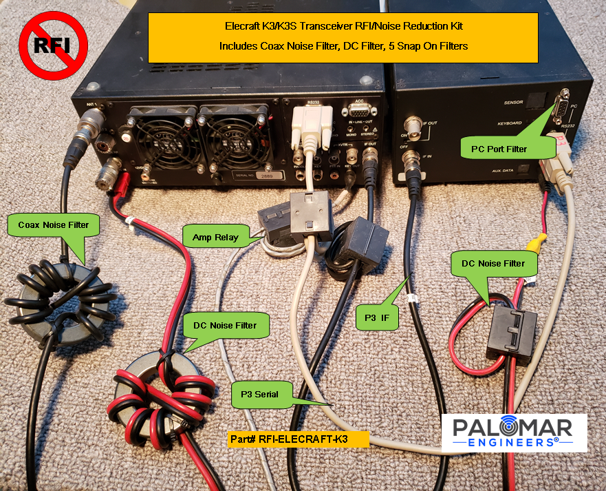 Palomar Engineers Home Theater System RFI Kit for AC Powered Sub-Woofers Only