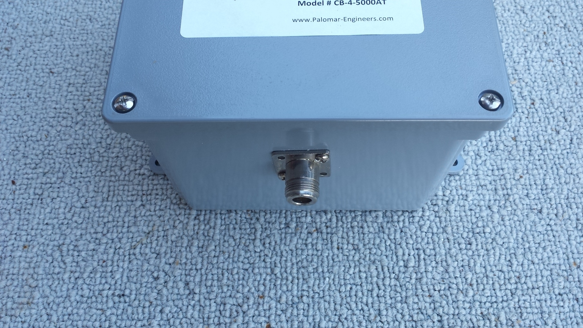 50:200 (4:1) CUBE™ Ladder line to Coax Balun, 1.8-30 MHz, 5 KW PEP
