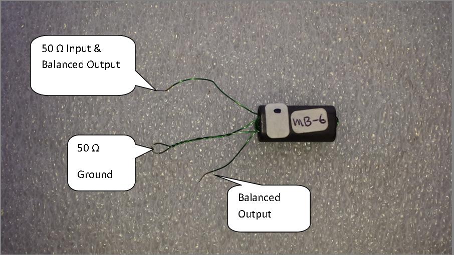 QRP Baluns/Ununs (1:1-16:1) - Beverage, 25 watt PEP MU-1