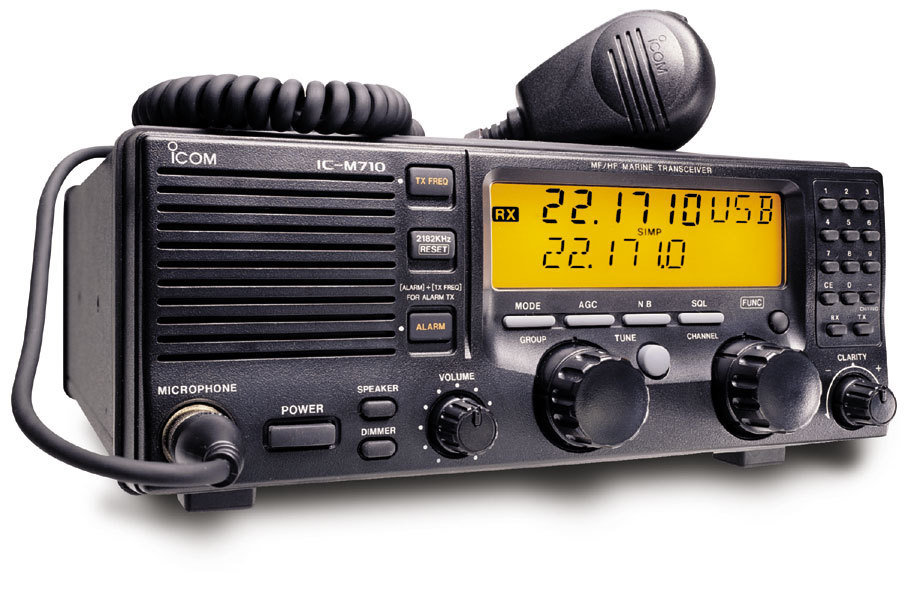 ICOM M700, M710 Marine Radio RFI and Noise Reduction Kit, RFI Range 1-60 Mz