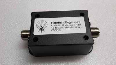 Common Mode Coax Noise Filter - 15-180 MHz, 100 Watts PEP