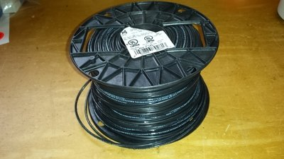 Antenna Wire #14 Stranded PVC Black wire - 500 Ft Roll