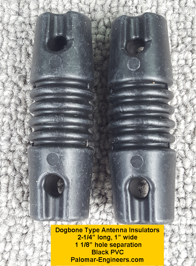 Dog Bone Antenna Insulators (Pair) DI-2