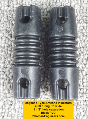Dog Bone Antenna Insulators (Pair)