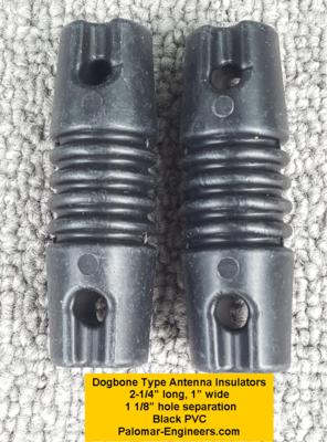 Dog Bone Antenna Insulators (Pair)