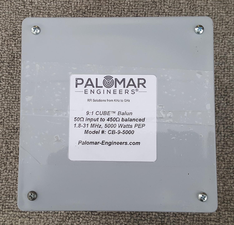 50:450 ohm (9:1) CUBE™ Balun, 1.8-31 MHz, 5 KW, ladder line, ZEPP, T2FD