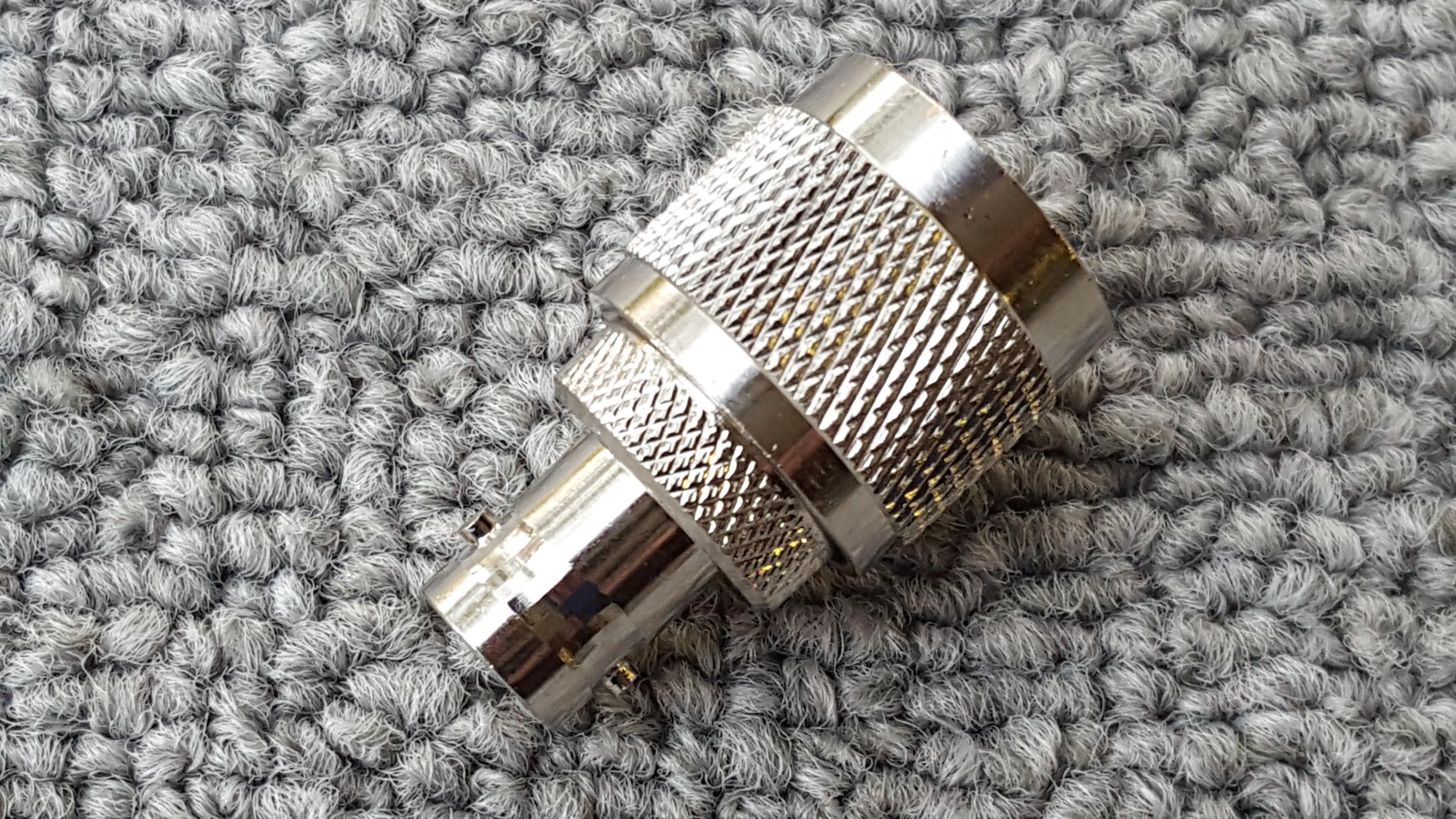 UHF PL259 to BNC Female Jack Adapter
