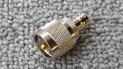 UHF PL259 to BNC Female Jack Adapter