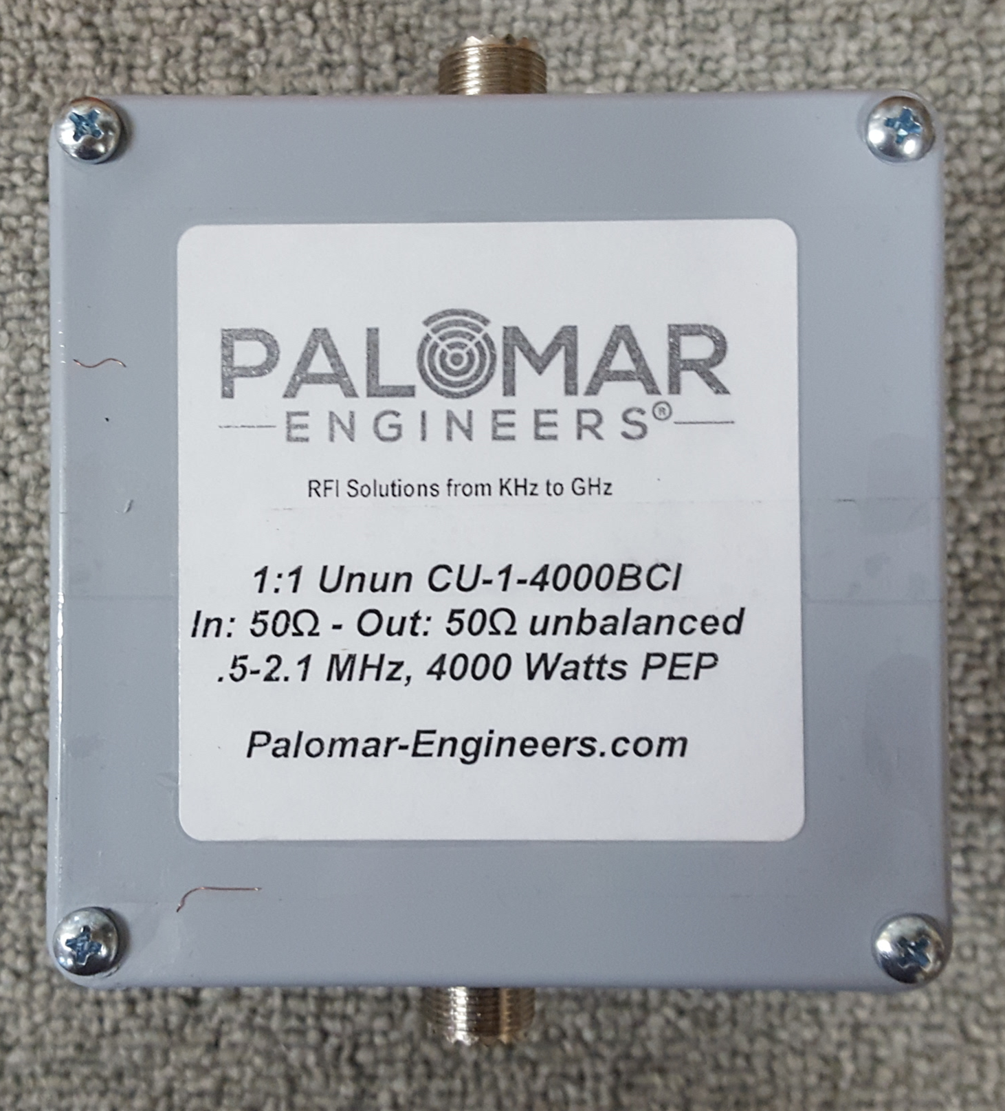 Portable Operation RFI Kits - Palomar Engineers®