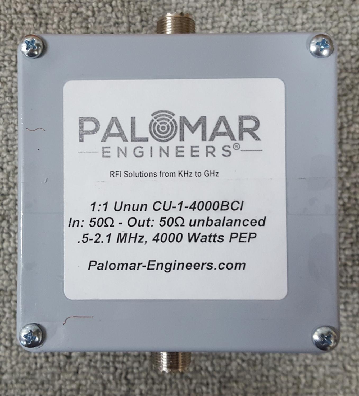 CUBE Feed Line Choke/Unun, 4KW PEP, 500 KHz-5 MHz
