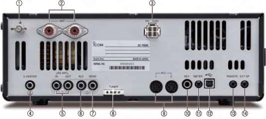 Icom 7600/7610/7700/7800 Transceiver RFI and Noise Reduction Kit, RFI Range 1-60 MHz, 14 Filters