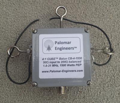 50:200 (4:1) CUBE™ Balun, 1.8-61 MHz, 1.5KW - Loop, OCF, Folded Dipole
