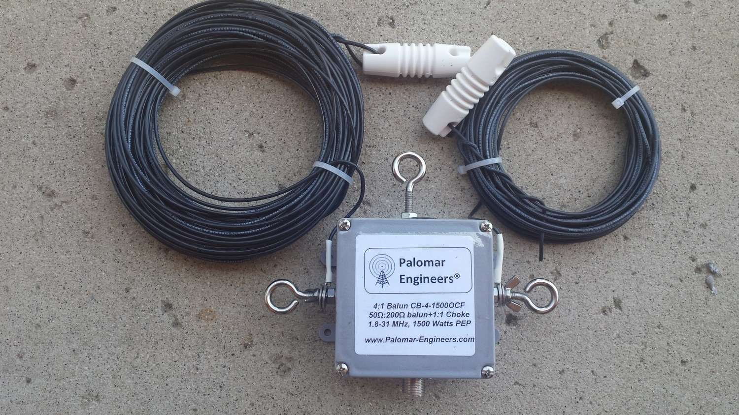 Off Center Fed Dipole Antenna, 80-10 Meters, 1.5KW/5KW PEP rated - FREE shipping in USA